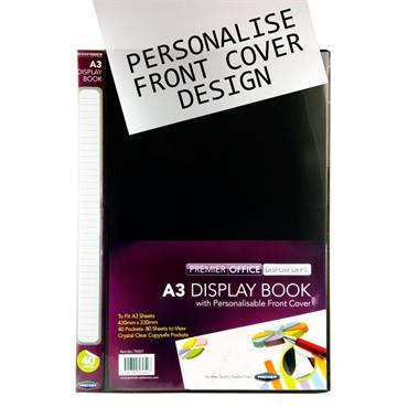 A3 Presentation Display Book 40 Pocke