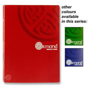 40 Pocket A4 Display Book Ormond