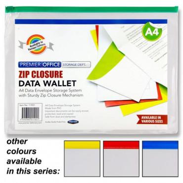 Envelope Zipper 4Asst