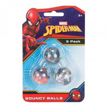 Bounce Balls 3Pk Spiderman