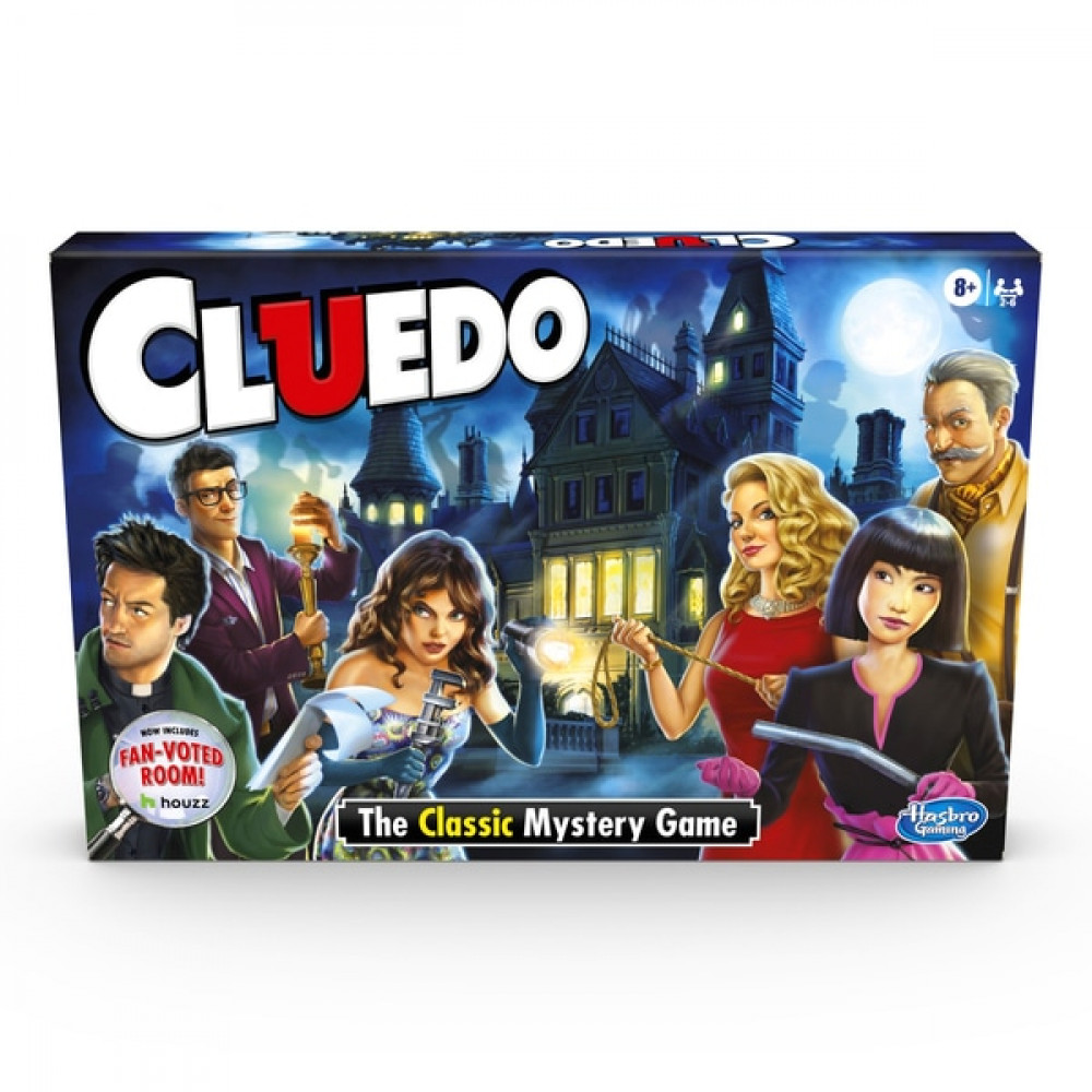 Cluedo Mystery Game