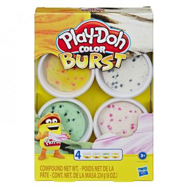 Playdoh Color Burst Asst