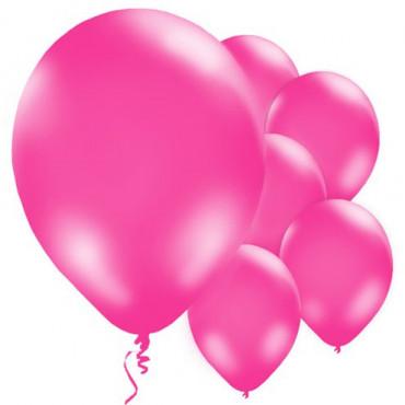 Balloons 12Pk Pink