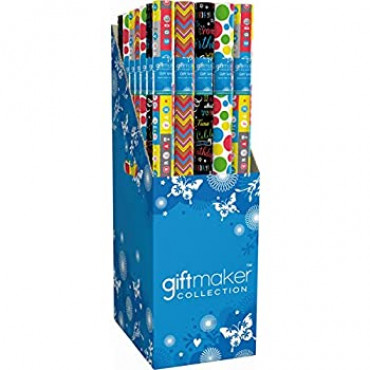 Gift Wrap Roll 4M Kids Bright