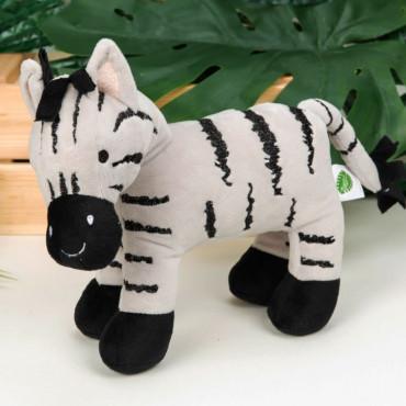 Plush Zebra Jungle Baby 21cm
