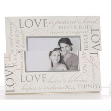Frame Love 6x4 Script Memories