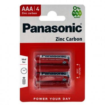 Aaa Panasonic Batteries Pk 4