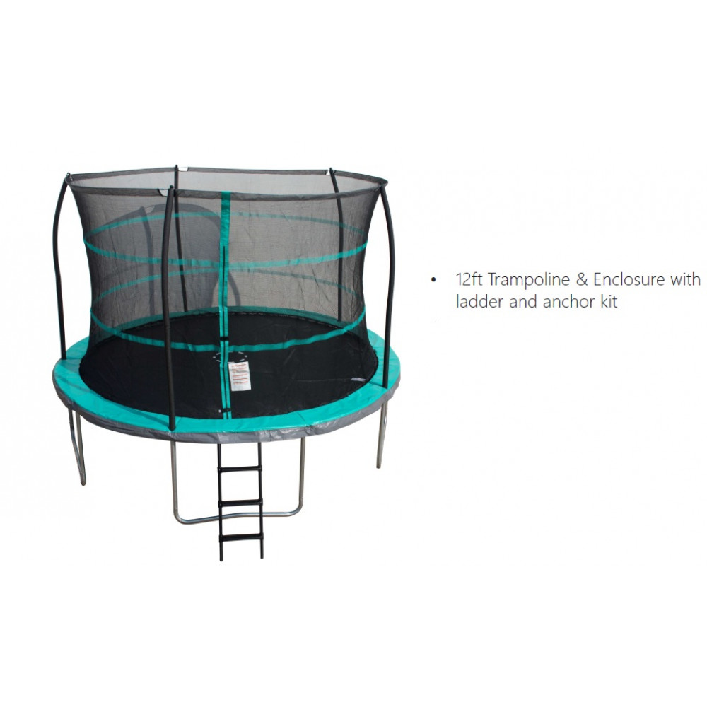 Trampoline 12ft Wiith Enclosure