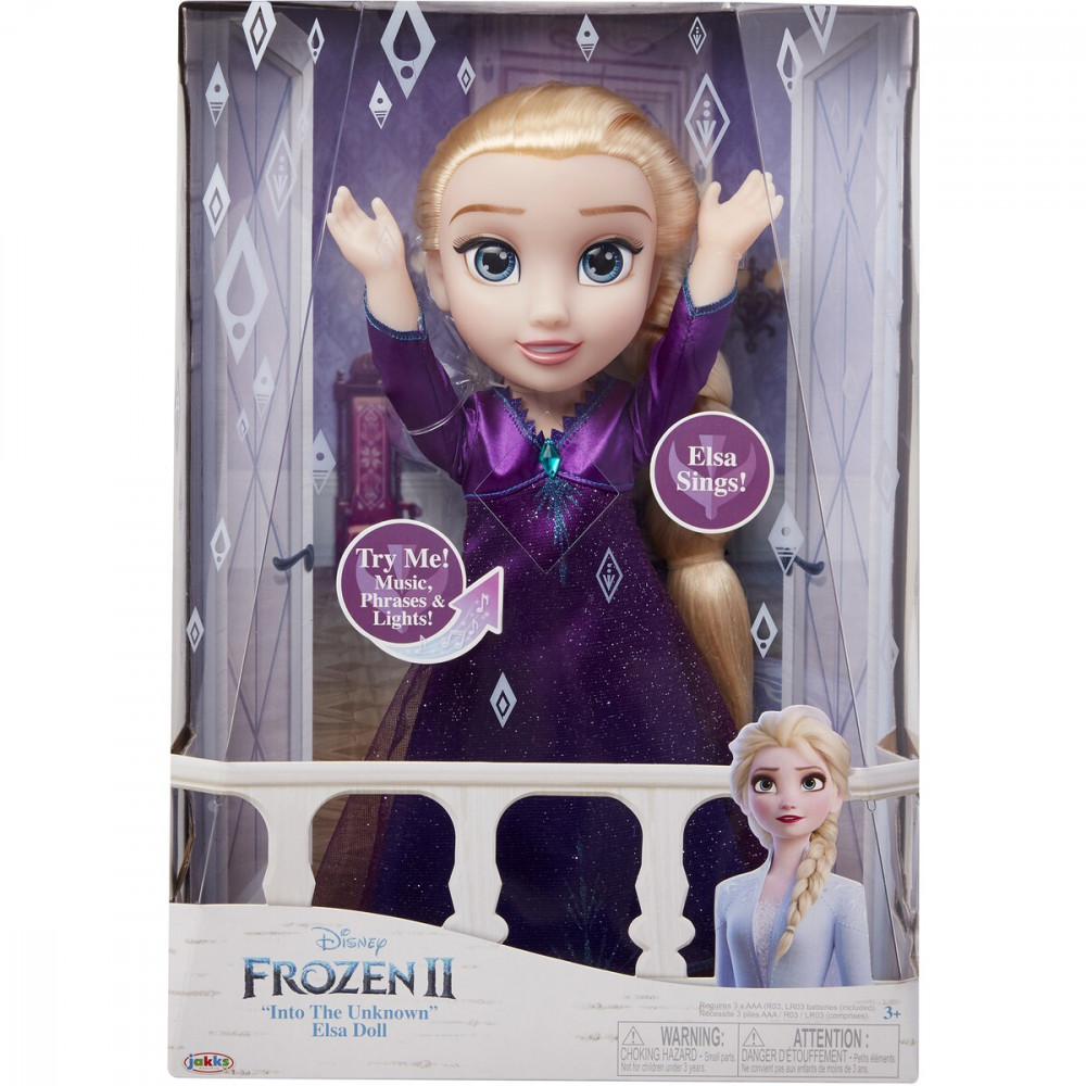 Elsa Feature Doll
