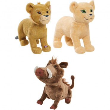 Lion King Plush W/Sound Asst