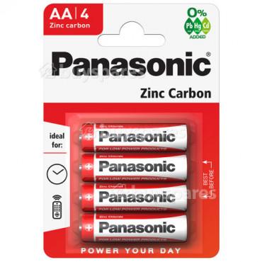 Aa Panasonic Batteries Pk 4