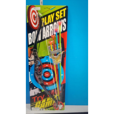 Bow & Arrow Sat W-4 Arrows