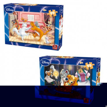 Lady & the Tramp 99 Piece Assorted