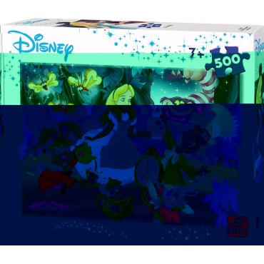 Disney Alice in Wonderland 500 pieces