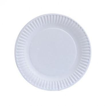 "Kraft Paper  Plates 7 10 pack"""