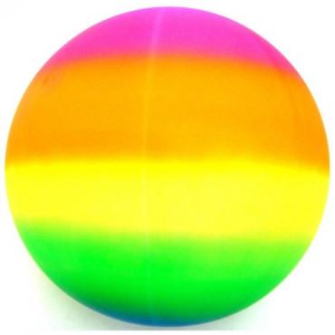 Ball Rainbow Neon Sports 5In