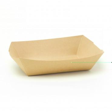 Kraft Deep Tray 10 pkt. 16x19cm Disposable