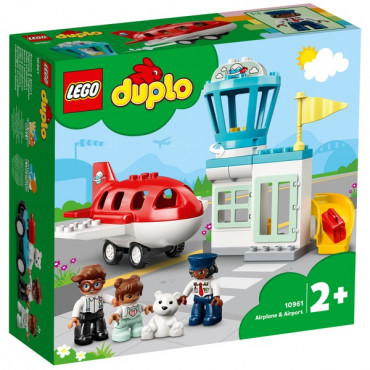Lego Duplo Airplane and Airport Set