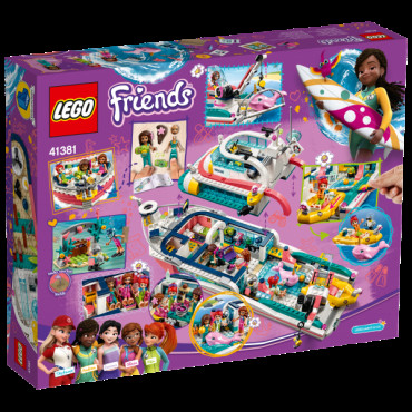 Rescue Mission Boat Lego Friends