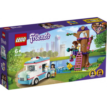 Lego Friends Vet Clinic Ambulance