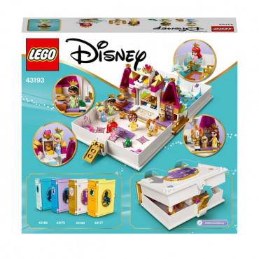 Ariel,Belle,Cinderella and Tianas Storybook Advens
