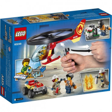 Fire Helicopter Response Lego City