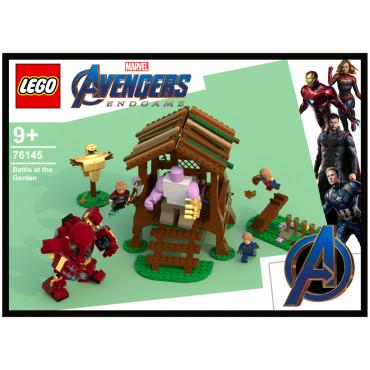 Avengers Battle at the Garden 76145