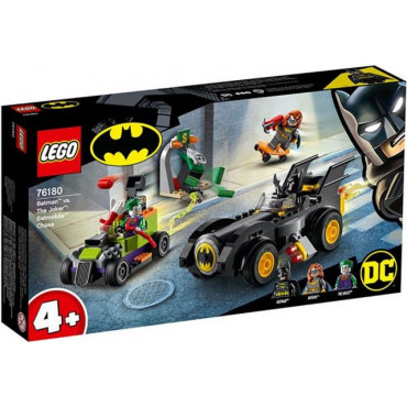 Batman vs Joker Batmobile Chase