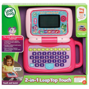 2in1 Leapfrog Touch Laptop Pink