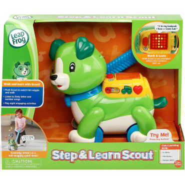 Leap Frog Step and Learn Scout