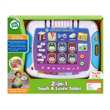 2in1 Touch and Learn Tablet