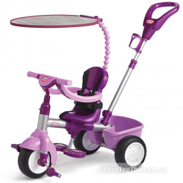 4 in 1 Trike Girls Purple