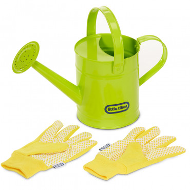 Growing Garden Watering Can and Gloves Little Tike