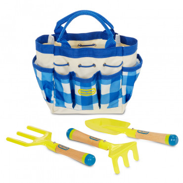 Growing Garden Hand Tools and Bag Little Tikes