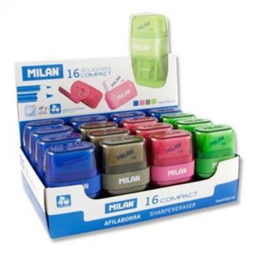 Milan Sharpener Eraser Clear