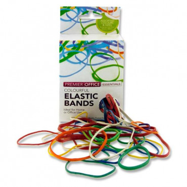 Rubber Bands Assorted Size And Colour