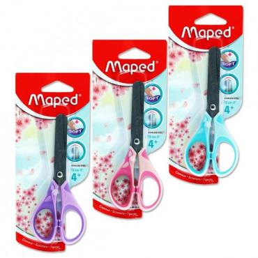 Soft Grip Scissors 13cm- Assorted Pastel Colours