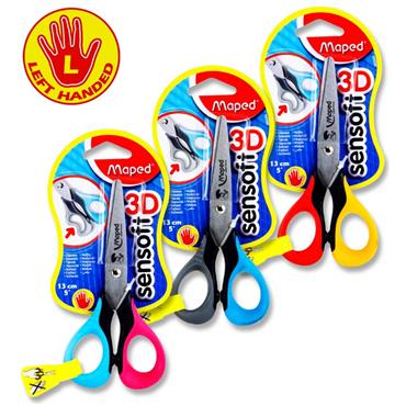 Scissors Left Handed Carded