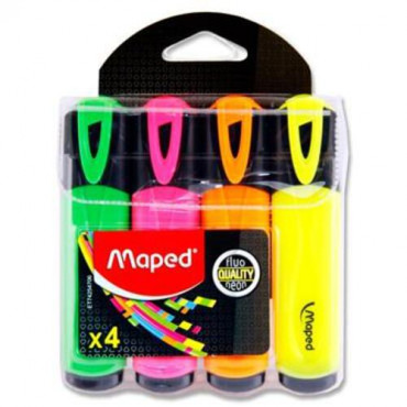 Fluopeps Pkt.4 Highlighters