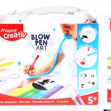 Blow Pen String Art