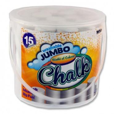 Jumbo Chalk White Pk15