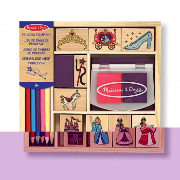 Princess Stamp Set Wooden