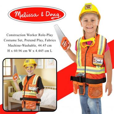 Construction Worker Costume Melissa & Doug