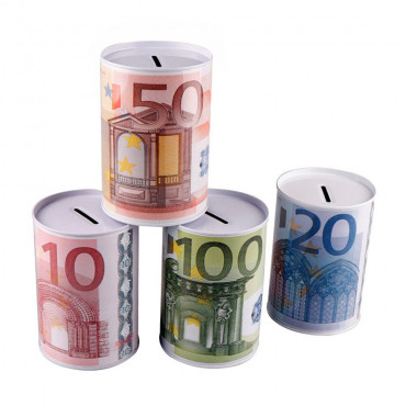 Money Tin  Euro Large