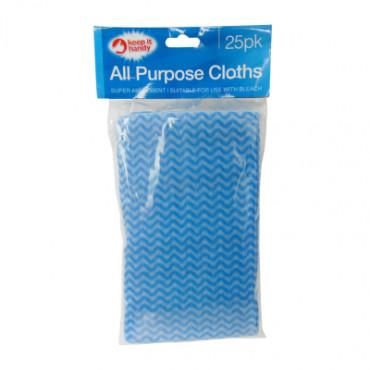 Cloth All Purpose 25Pk