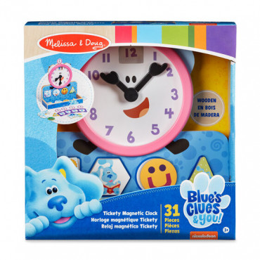 Blues Clues Tickety Tock Magnetic Clock