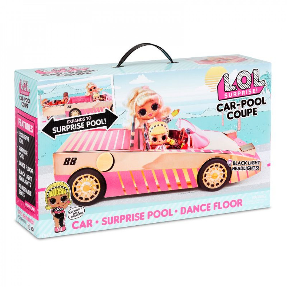 Lol Surprise Car Pool Couple