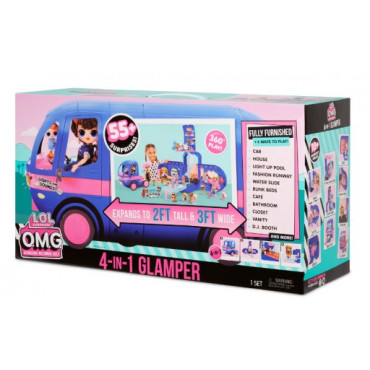 L.O.L. Surprise 4 in 1 Glamper