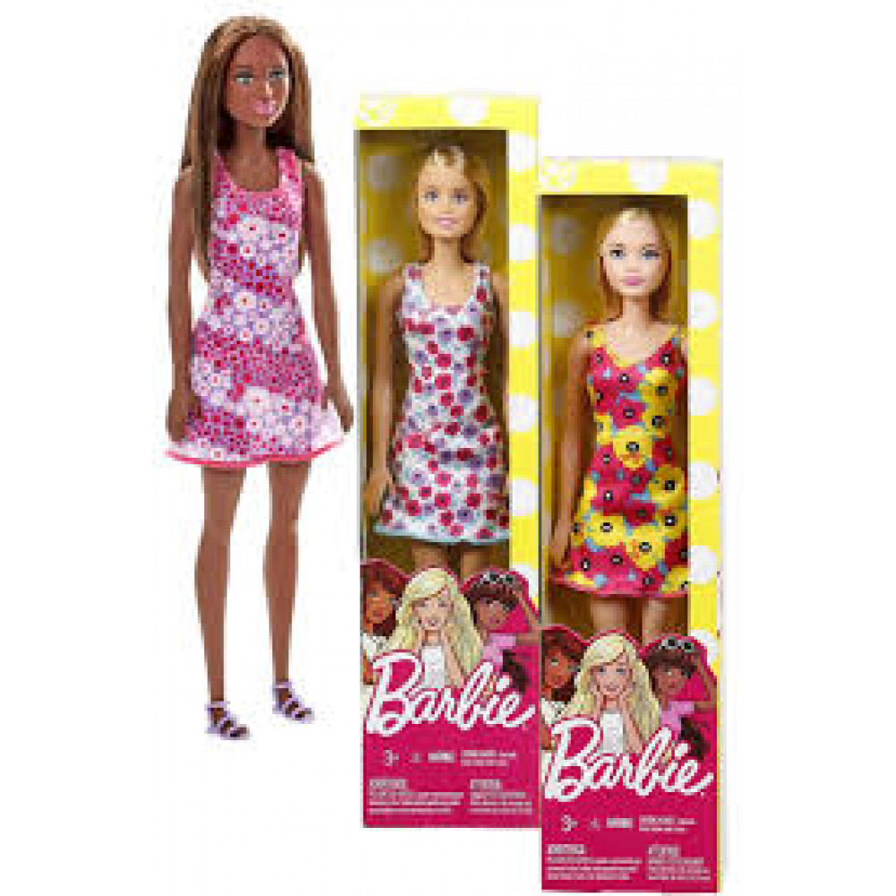 Barbie Fashion Doll 4Pk
