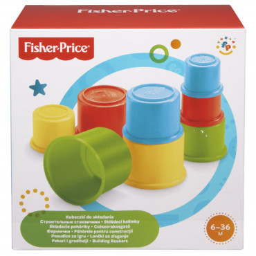 Fisher Price Building Beakers